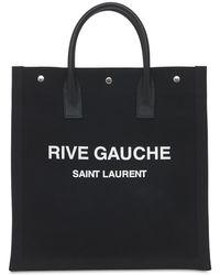 "Saint Laurent - Сумка ""rive Gauche"" Из Канваса - Lyst"