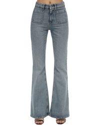 Miu Miu Denim Icons Jane Flared Jeans - Blue