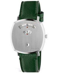 Gucci Grip Watch, 38mm - Green