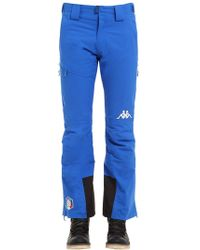 "Kappa ""Pantalones """"fisi Italian Ski Team"""""" - Azul"