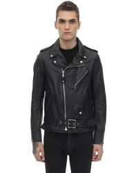 Schott Nyc - 626 Leather Jacket W/ Padding - Lyst