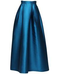 Alberta Ferretti 装飾ビスチェ - ブルー