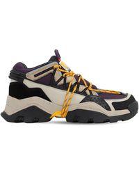 "KENZO Sneakers ""chunky"" De Piel - Multicolor"