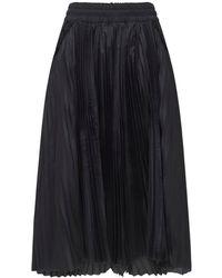 Nike Sacai プリーツスカート - ブラック