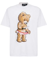 DOMREBEL - T-shirt Aus Baumwolljersey - Lyst