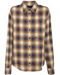 DSquared² Рубашка Оверсайз Из Хлопка - Многоцветный