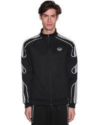 """adidas Originals Sweatshirt Aus Jersey """"fstrike Tt"""" - Schwarz"""