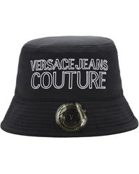 Versace Jeans Couture コットン バケツハット - ブラック