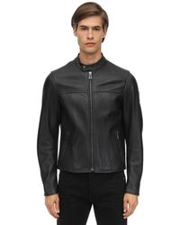 Belstaff - Pelham Polished Leather Jacket - Lyst