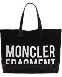 "Moncler Genius Bolso ""fragment"" De Piel - Negro"