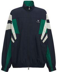 Balenciaga Sporty B トラックスーツジャケット - ブルー