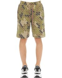 Burberry Camile Shorts - Grün