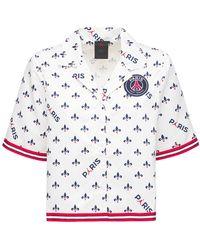 Nike Jordan Printed Short-sleeve Shirt - White