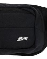 MSGM テクノベルトバッグ - ブラック