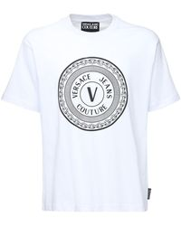 Versace Jeans Couture コットンtシャツ - ホワイト