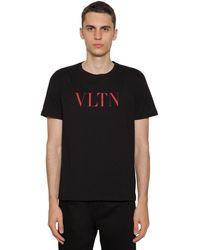 Valentino T-shirt Vltn - Schwarz