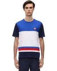 Polo Ralph Lauren T-shirt Aus Baumwolljersey - Blau