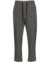 Dolce & Gabbana Спортивные Брюки Из Джерси - Серый