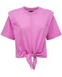 Isabel Marant Zelikia ジャージーtシャツ - ピンク