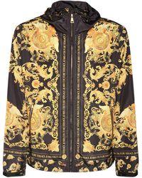 Versace Jeans Couture Куртка С Капюшоном - Металлик