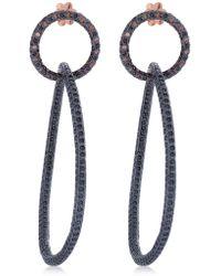 Maha Lozi   Hypnotic Earrings   Lyst
