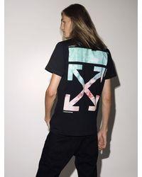 """Off-White c/o Virgil Abloh T-Shirt En Coton Imprimé """"Lvr Exclusive"""" - Noir"""