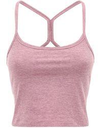 Beyond Yoga Tanktop Mit Racerback - Pink