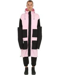 Colmar A.G.E. by Shayne Oliver Hooded Zip-up Jacket W/ 4 Sleeves - Pink