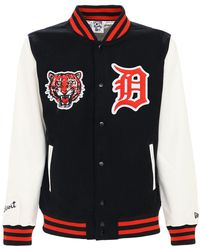 KTZ - Nba Detroit Tigers ボンバージャケット - Lyst