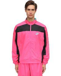 Nike Klassische Sportjacke - Pink