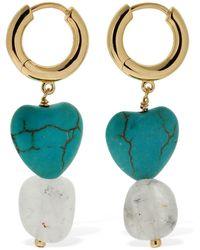 Anni Lu Vanessa Hoop Earrings - Mehrfarbig