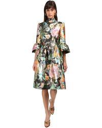 Marc Jacobs ジャカードブロケードドレス - マルチカラー