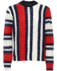 Moncler Genius French Flag モヘアセーター - ブルー