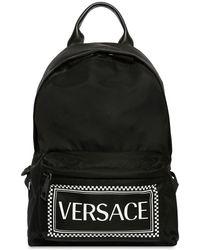 Versace - Zaino In Nylon - Lyst
