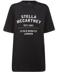 Stella McCartney Футболка Из Органического Хлопка - Черный