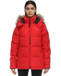 Canada Goose - Chelsea Parka With Fur Trim - Lyst