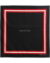 Fear Of God - Cotton & Silk Bandana - Lyst