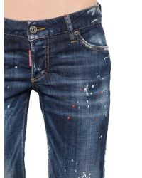 "DSquared² Hose Aus Denim ""jennifer"" - Blau"