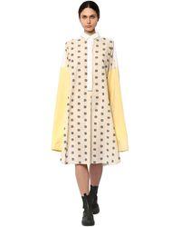 Loewe オーバーサイズシャツドレス - ホワイト