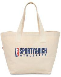 Sporty & Rich Team トートバッグ - ナチュラル