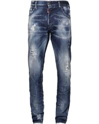 "DSquared² - 16.5cm Jeans Aus Baumwolldenim ""cool Guy"" - Lyst"