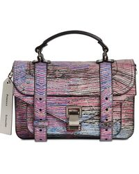 Proenza Schouler バッグ Ps1 Tiny Limited Edition Anniversary - パープル