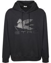 Etro - Хлопковая Худи С Логотипом - Lyst
