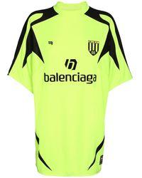 Balenciaga Футболка Из Джерси Оверсайз С Логотипом - Многоцветный