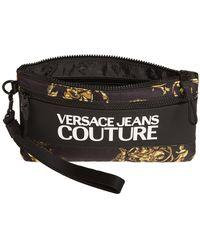 "Versace Jeans Couture Nylonpouch Mit Makrologo ""regalia Baroque"" - Schwarz"