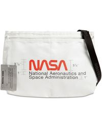 Heron Preston Nasa Print Nylon Crossbody Bag - Mehrfarbig