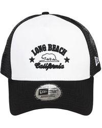 KTZ Ne Destination Cotton Trucker Hat - Black