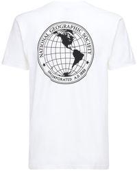 "Vans T-shirt ""national Geographic Jersey"" - Weiß"