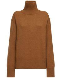 AG Jeans カシミアタートルネックセーター - ブラウン