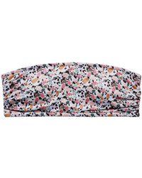 Underprotection Vanessa Printed Bandeau Bikini Top - Multicolor
